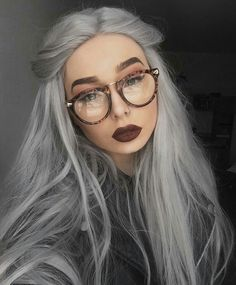 Silver wig by vncvt silver wigs, silver hair, grey hair, hair color, Silver Wigs, Silver Grey Hair, Silver Hair Tumblr, Dark Grey Hair, Ash Grey, Brown Hair, Hair Color Dark, Cool Hair Color, Grey Hair Colors
