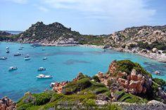sardegna, arcipelago, maddalena, isola, spargi, cala, corsara, mare, panorama, vacanze in sardegna,