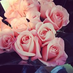getting bouquets. <3 Too bad the only time my boyfriend gives them to me is after a fight. Sometimes.