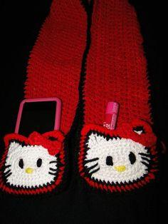 Hello Kitty pocket scarf