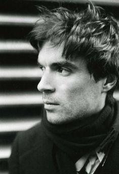 David Byrne by David McGough (1977)