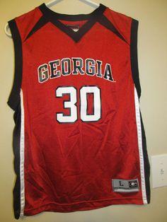 1ee33c74c32 Georgia Bulldogs Basketball jersey - Youth large #GenuineStuff  #GeorgiaBulldogs