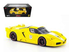 Hot wheels Ferrari Enzo FXX Yellow #22 Elite Limited Edition 1/43 Diecast Model Car by Hotwheels - Brand new 1:43 scale diecast car model ofFerrari Enzo FXX Elite Yellow #22 Limited Edition die cast car by Hot Wheels. Brand new box. Rubber tires. Detailed interior, exterior. Dimensions approximately L-4 inches.-Weight: 1. Height: 5. Width: 9. Box Weight: 1. Box Width: 9. Box Height: 5. Box Depth: 5