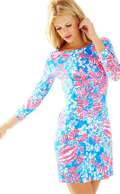 1ab70ec516ece5 Lilly Pulitzer UPF 50+ Sophie Dress Summer Dresses For Women, Summer  Outfits, Day