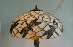 stained glass lamp shades | Tiffany Dragonfly Lamp Shade (Dragonfly)