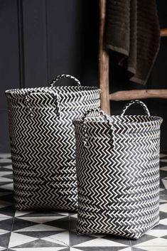 #storagebasket #stylishstorage #monochromehome #basket #laundrybasket #homestorage #bathroomstyle #bathroomstorage #laundryroom #storage #storagesolutions #stylishhome #rockettstgeorge White Laundry Basket, Woven Laundry Basket, Washing Basket, Laundry Hamper, Rockett St George, Small Laundry, Bathroom Styling, Bathroom Accessories, Retro Vintage