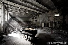 reactor4.be  Chernobyl. Beautiful only in the abstract. But certainly desolate.
