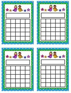 These mermaid incentive charts are great for keeping track of individual student progress, academic goals, behavior goals, returning homework or motivating students in the classroom. Incentive Charts, Printable Reward Charts, Behavior Board, Academic Goals, Programming For Kids, Student Motivation, Teacher Newsletter, Childcare, Classroom Management