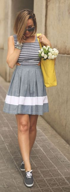 Grey And White Streetstyle                                                                             Source