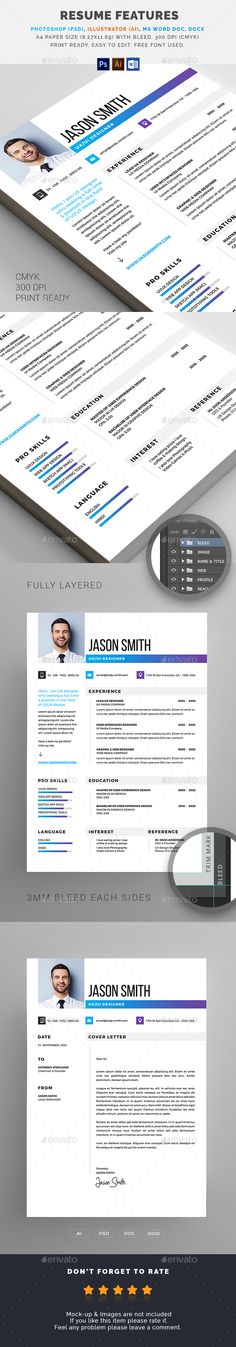 Cv Template - William Greney Cv template, Template and Resume cv - resumes by design
