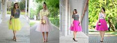 spódnica tiulowa stylizacje - Szukaj w Google