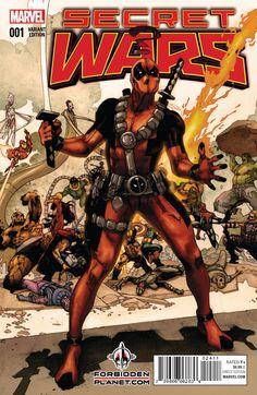 Secret Wars #1 | Deadpool
