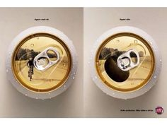 Now you see it. Now you dont. - Anti drunk-driving poster by Fiat