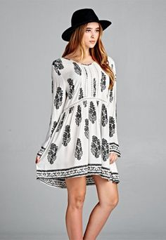 Shop more affordable boho dress at Indigo Bleu. www.indiogbleufashion.com