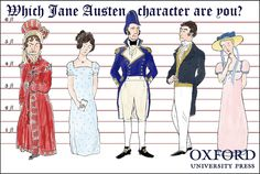 Which Jane Austen character are you? Take our quiz to find out! #quiz #literature #books #JaneAusten #Austen