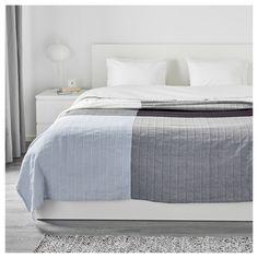 ÄNGSTÖREL Ágytakaró - kék/kockás, 250x250 cm - IKEA