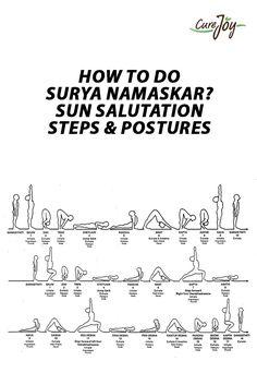 How to do Surya Namaskar – Sun Salutation Steps & Postures ==>