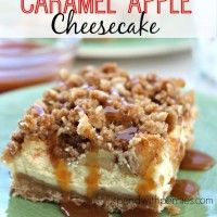 Recipe Submitted By: Spend with Pennies Click on the link below for the Caramel Apple Cheesecake Recipe!  Caramel Apple Cheesecake
