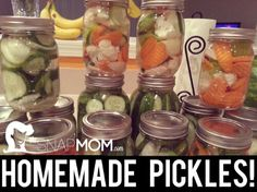 Whitney J's Homemade Pickles and Giardiniera!