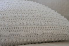 one little rayndrop: Modern Romantic Cushion Cover Pattern-free crochet pattern