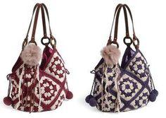 Materiales gráficos Gaby: Patrones de bolsos tejidos