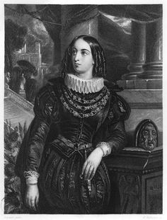 Lelia, illustration from 'Lelia' by George Sand (1804-76) engraved by John Henry Robinson (1796-1871) (litho) (b/w photo) by Francois Gabriel Guillaume Lepaulle
