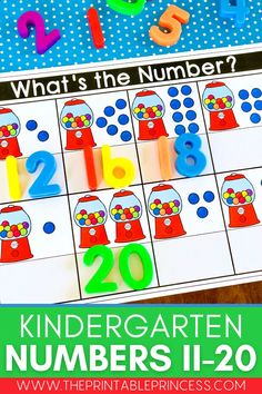 Here's an activity that will make teaching {and learning} numbers fun, engaging, and hands-on! Building number sense for 11-20 is developed through lots of practice and exposure. Plus it is super easy to prep. Just print and slide in page protectors! This resource makes a great morning work tub, fast finisher activity, or math center. Just add magnetic numbers.