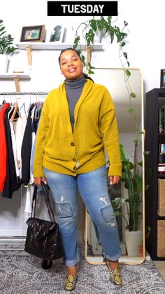 Fat Fashion, Black Women Fashion, Fashion Tips For Women, Curvy Fashion, Korea Fashion, Japan Fashion, India Fashion, Business Casual Outfits For Work, Everyday Casual Outfits