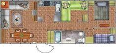 Resultado de imagen para planos de casa de 5m x 15mde  una sola planta