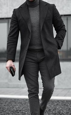 Mode Masculine, Mode Outfits, Fashion Outfits, Fashion Coat, Men's Fashion, Men Winter Fashion, Fashion Deals, Fashion Shoes, Fashion Tips