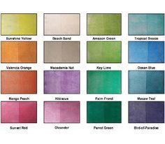 Hawaiian Color Palette | Great Palette of Tropical Colors ...