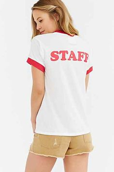 Camp Collection Staff Ringer Tee