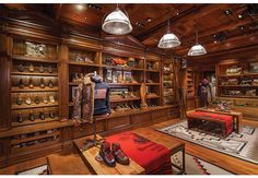 Polo Ralph Lauren- Inside 711. Shoe room, ground floor, back left side