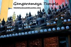 www.tourpackagesrilanka.com Tour Package Lanka Collection - Gangaramaya Temple Colombo This Buddhist temple is situated not far from the Beira Lake and near Union Place Colombo, and , established during nineteenth-century. Gangaramaya Temple could be the most eclectic temple in the country and it is a home for some of the antique objects, hundreds of Sri Lankan, Thai and Chinese Buddha statues.
