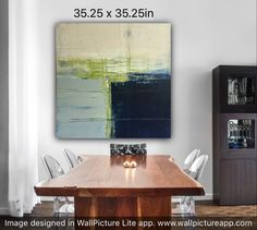 Fooling around with scale. Oil Mix, Abstract Oil, Scale, Dining Table, Contemporary, Painting, Design, Home Decor, Live