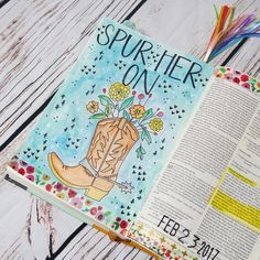 #if_cravingconnection Day 10 Spur Her On Hebrews 10:24  I seriously loved this devo! My notes took up 2 pages in my devo booklet! Aliza really brought it home in this chapter! So grateful for my girls that spur me on tword love , courage, goodness, and God! And it is so true that because they spur me on, I can, and want to spur on others! Loved this quote in the book: shallow waters are not where we become sharpened. safety is not where we grow. Only when we take risks, when we are…