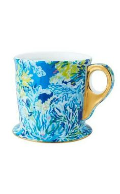 LIMITED EDITION PRINTED MUG Brilliant Blue Wade And Sea Accessories Small Style #24980