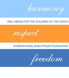 This is just a reminder for me to search more info on Emmi Pikler, a pediatritian who cared about children and their needs, in a similar way a MAria Montessori