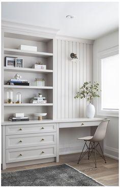 Home Office Space, Office Workspace, Home Office Design, Home Office Decor, Home Decor, Office Ideas, Office Setup, Office Organization, Office Nook