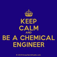 It's not about becoming a chemical engineer, it's about being one.