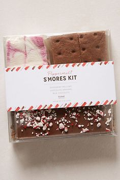 Holiday S'mores Kit #anthropologie