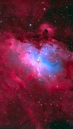 Eagle Nebula M16 Credit: Brett du Preez
