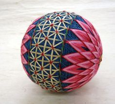 Temari. I would love to learn how to do this. (New note. I AM learning how to do this!)