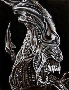 Alien Queen - Aliens - Bruce White