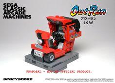 SpacySmoke - Lego Sega Arcade Classic Machines Out Run 2
