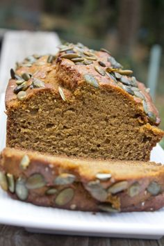 Whole Wheat Pumpkin Bread _Pidge's Pantry