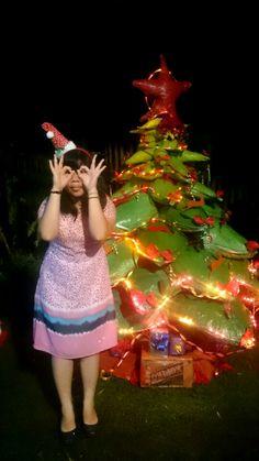 outdoor christmas tree..handmade... r3