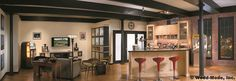 Loft kitchen and built.ins created with Wood.Mode cabinetry