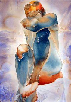 Carol Carter | American Impressionist watercolor painter http://www.SeedingAbundance.com http://www.marjanb.myShaklee.com
