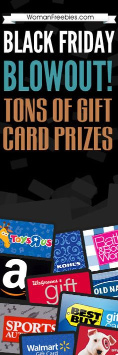 $1,000 #GiftCard #Giveaway! http://womanfreebies.com/sweepstakes/gift-card-giveaway/